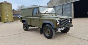 "Land Rover Defender 110 Turbo Utility medium 4x4 GT HT FFR heavy duty RHD ex MoD 1987 ""The Duck"" #369 1"