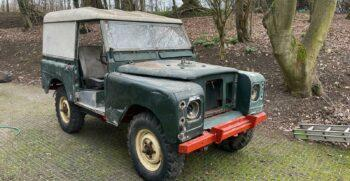 """Land Rover Series 3 1975 Petrol """"The Jack"""" 1975 #318 2"""