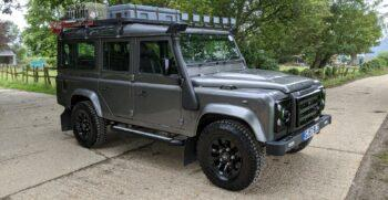 """Defender Station Wagon 2.4 TDCi 110 XS SW LWB  6 Speed 2007 """"The Tempest""""  #172 2"""