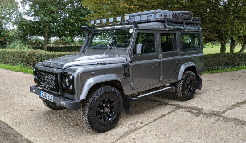 """Defender Station Wagon 2.4 TDCi 110 XS SW LWB  6 Speed 2007 """"The Tempest"""" #172 full"""