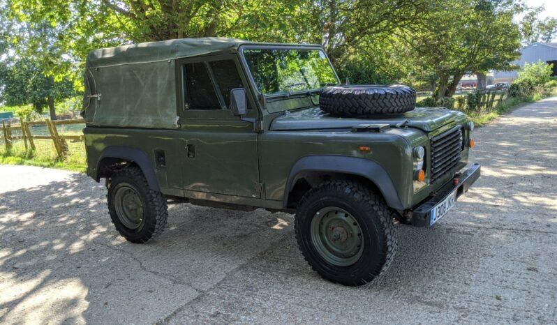 "Land Rover Defender 90 1992. Rare Soft Top GS Cargo . 12V Diesel ""The Hunter""  SOLD #197 full"
