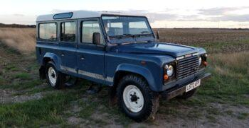 """Land Rover Defender Station Wagon 110 200TDi  11 seater in Arles Blue 1993  """" The Miller"""" #220 6"""