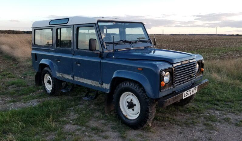 "Land Rover Defender Station Wagon 110 200TDi  11 seater in Arles Blue 1993  "" The Miller"" #220 1"