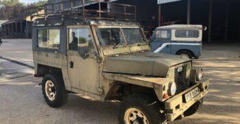 Land Rover series 2A Lightweight 1