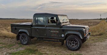 Land Rover Defender 130 Country Double Cab TD5 15P 2005 #215 5