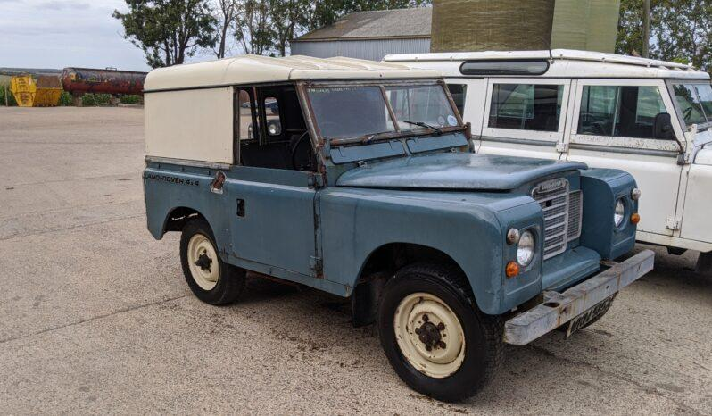 "Land Rover Series 3 88″. Excellent project 1981 diesel hardtop. Exceptional ""The North"" #199 full"