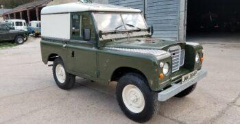 "Land Rover series 3 petrol 88"" 1975. Rare. One former keeper until 2020. ""Jump"" #221  1"