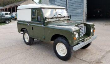"Land Rover series 3 petrol 88"" 1975. Rare. One former keeper. ""Jump"" #221  2"