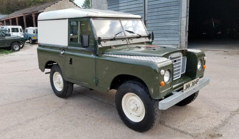"Land Rover series 3 petrol 88"" 1975. Rare. One former keeper. ""Jump"" #221  1"