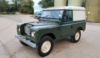"Land Rover series 3 petrol 88″ 1975. Rare. One former keeper. ""Jump"" #221  full"