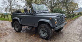 Land Rover Defender 90 Soft Top New Build coming soon 13