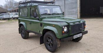 """Land Rover Defender 90 TD5 Left Hand Drive 2000 """"Espagna"""" #322 10"""