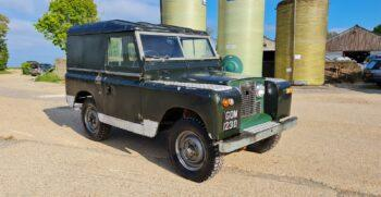 """Land Rover Series 2a 88 inch 1966 """"GOM123D"""" #280 14"""