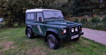 """Land Rover Defender 90 300TDi County Station Wagon spec 1996 """"Lizzie"""" Stock 400 1"""