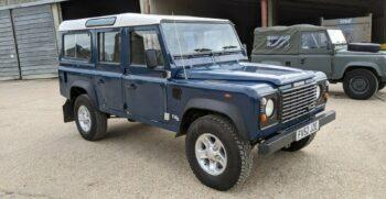 "Land Rover 110SW Defender County TD5 ""Bluebird"" 347 1"
