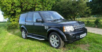 Discovery 4 XS TDV6 3,0litre 2010 model. 2009 Two former keepers Stock 393 13