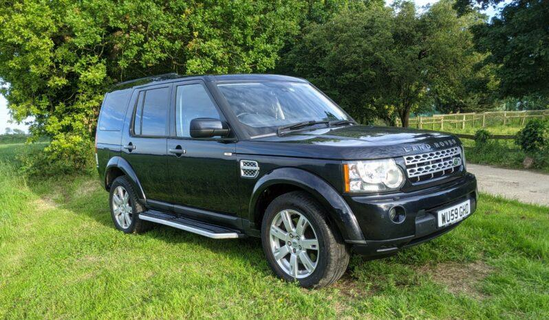 Discovery 4 XS TDV6 3,0litre 2010 model. 2009 Two former keepers Stock 393 1