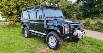 Land Rover Defender 110 XS 2.4 TDCi County Station Wagon 2007 1 Previous Keeper Incredible history #404 4