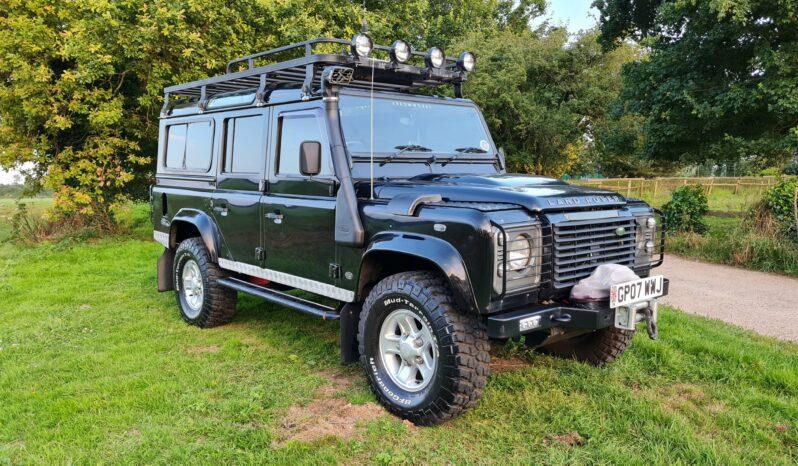 Land Rover Defender 110 XS 2.4 TDCi County Station Wagon 2007 1 Previous Keeper Incredible history #404 1