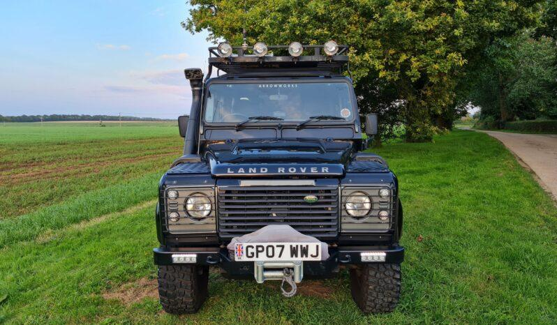 Land Rover Defender 110 XS 2.4 TDCi County Station Wagon 2007 1 Previous Keeper Incredible history #404 full